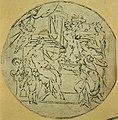 Anoniem, Medaillon met godin aan wie vruchten worden aangeboden - Médaillon représentant une déesse à qui des fruits sont proposés, KBS-FRB.jpg