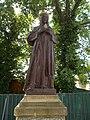 Antal Mohl grave statue by Lajos Lukácsy, 2019 Kapuvár.jpg