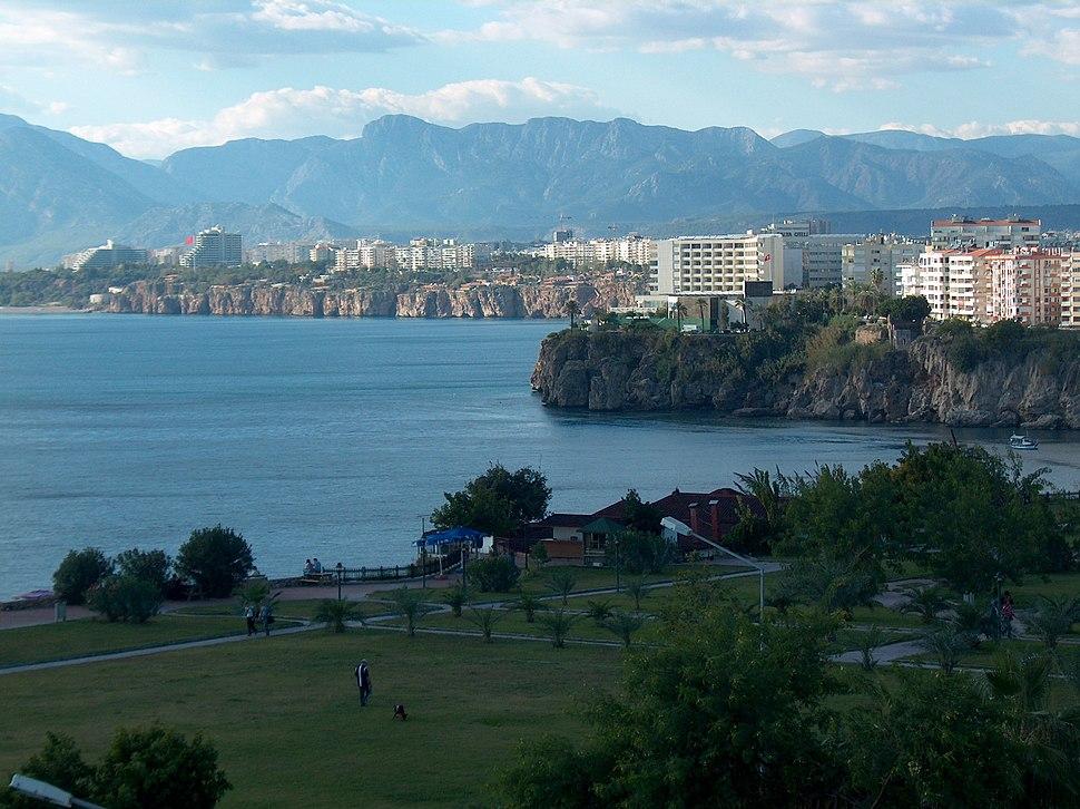 Antalya falezler