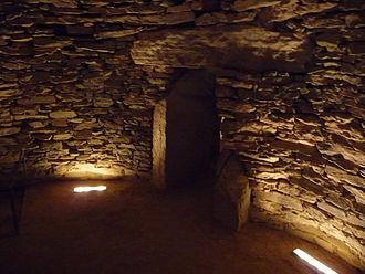 Tholos de El Romeral - The main chamber.