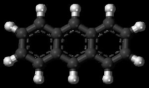 Anthracene - Image: Anthracene molecule ball