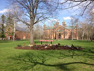 Antioch College - A photo of Antioch College campus grounds.