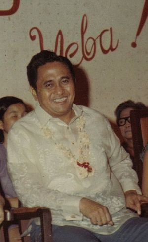 Antonio Villegas - Antonio J. Villegas, Mayor of Manila, taken in 1970