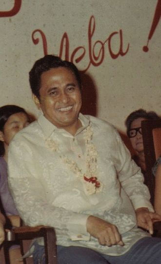 "Metro Manila Film Festival - Mayor of Manila Antonio Villegas in 1970, founder of the ""Manila Film Festival""."