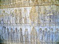 Apadana eastern stairs Persepolis 2014 (3).jpg