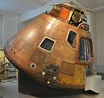 Apollo 10 Command Module (CM-106) 'Charlie Brown' (18276154193).jpg