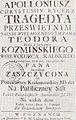Apoloniusz Chrystusow Rycerz, Poznan, Jezuici.jpg