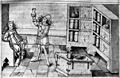 Apothecary examining urine, 15th century Wellcome M0007381.jpg