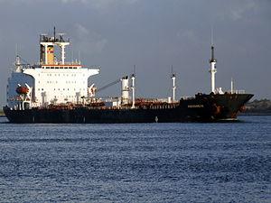 Aquidneck IMO 8004985 approaching Port of Rotterdam, Holland 30-Sep-2006.jpg