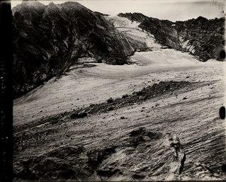 Arapaho Glacier Glacier in Colorado, USA