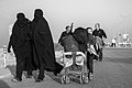 Arba'een In Mehran City 2016 - Iran (Black And White Photography-Mostafa Meraji) اربعین در مهران- ایران- عکس های سیاه و سفید 49.jpg