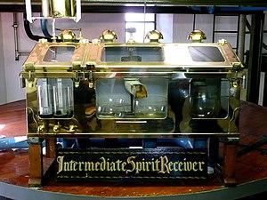Spirit safe - The spirit safe at Ardbeg Distillery
