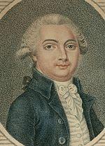Le duc d'Aiguillon, député de la Sénéchaussée d'Agen, gravure de J.-B. Vérité, 1789.