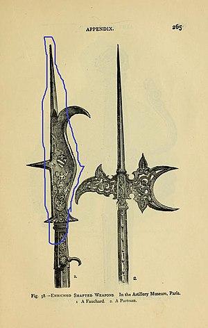 Fauchard - Image: Armsarmourinanti 00laco 0287