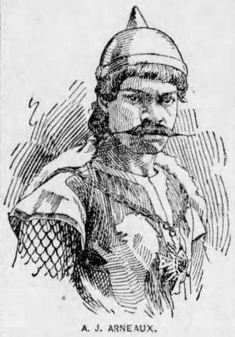 John A. Arneaux - Arneaux as Richard III in 1887