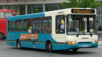 Volvo B6 - Arriva Shires & Essex Northern Counties Paladin bodied B6 in High Wycombe in July 2009