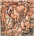 Arthur Hughes cartoon the Birth of Sir Tristram.jpg