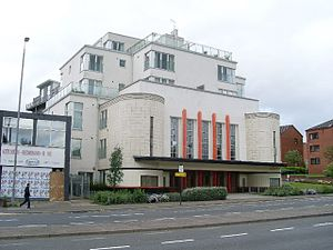 Anniesland - Ascot Cinema converted into flats in 2002