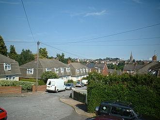 Exwick - Image: Ashleigh Close Exwick