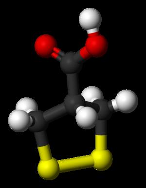 Asparagusic acid - Image: Asparagusic acid 3D balls