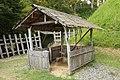Asuke Castle - Hut with a Furnace, Asuke-cho Toyota 2009.jpg