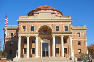 Atascadero, California - Atascadero City Hall (Administration Building), built 1914 - 1918