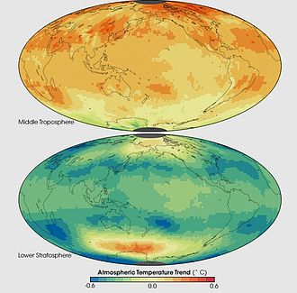 Atmosphere of Earth - Image: Atmospheric Temperature Trend