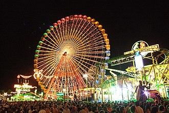 Albacete Fair - Attractions located in Los Ejidos.