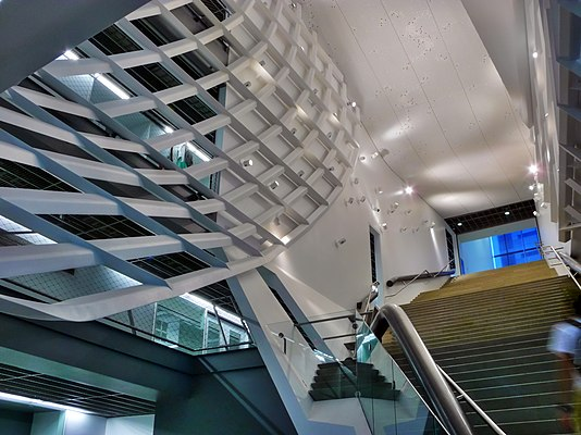 Main Atrium and Grand Staircase of 41 Cooper Square Atrium and Staircase Interior.jpg