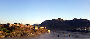 Attock Fort - Overlooking the river