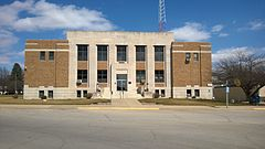 Audubon County IA Courthouse