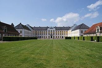 Augustenborg Palace - Augustenburg Palace, courtyard view