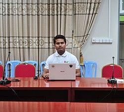 Wikipedian - Aung Kyaw Soe