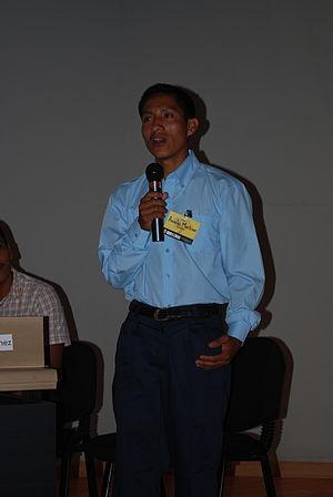 Tolupan people - Image: Aurelio Martinez Acaling 04