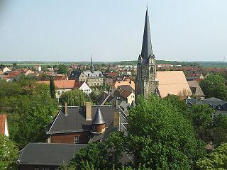 Lützen Place in Saxony-Anhalt, Germany