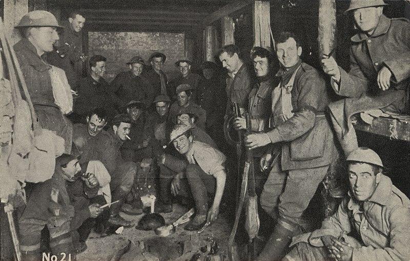 File:Australian troops living in underground vaults (17002452934).jpg