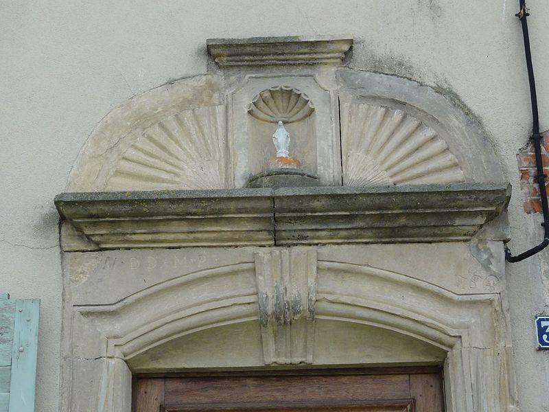 Autrepierre (M-et-M) dessus de porte maison B