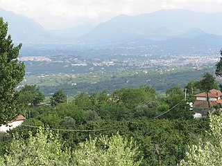 Irpinia historical-geographical district in Southern Italy
