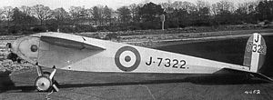 Avro 560 - Image: Avro 560