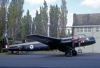 Avro Lincoln - Royal Air Force Lincoln B.2 used by Napier's for icing research work until 1967 (1966)