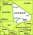 Azawad map-albanian.jpg