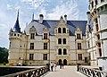 Azay-le-Rideaux Château d'Azay-le-Rideau Nordseite 6.jpg