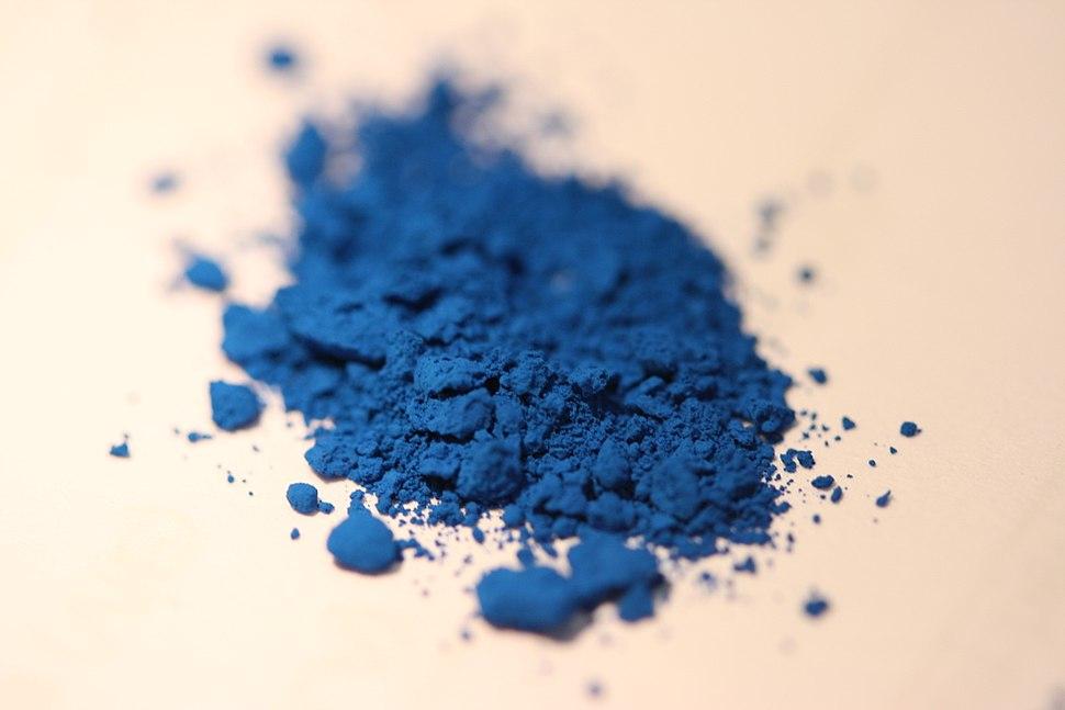 Azurblau Pigment