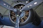 B-17G motor (Wright Cyclone), The American Air Museum, Imperial War Museum, Duxford. (30992047096).jpg