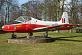 BAC Jet Provost T5A XW353 3 (6953423681).jpg