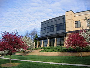 Bob Jones University - The seminary building at Bob Jones University