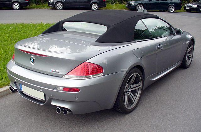 BMW M6 Cabrio (E64)