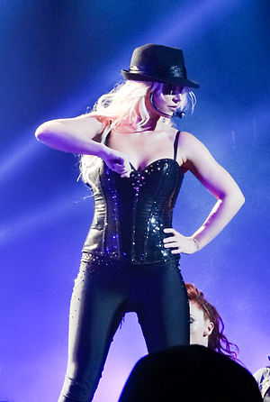 Gimme More - Spears performing the track during her Las Vegas residency show, Britney: Piece of Me.