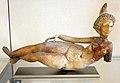 Babilonia, statuetta femminile nuda sdraiata, forse la gran dea di babilonia, alabastro, III sec ac.-III dc ca..JPG