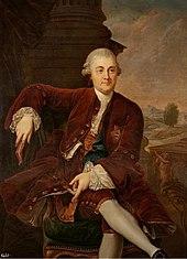 Portrait of Kazimierz Poniatowski.